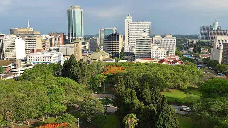Harare - Capital of Zimbabwe