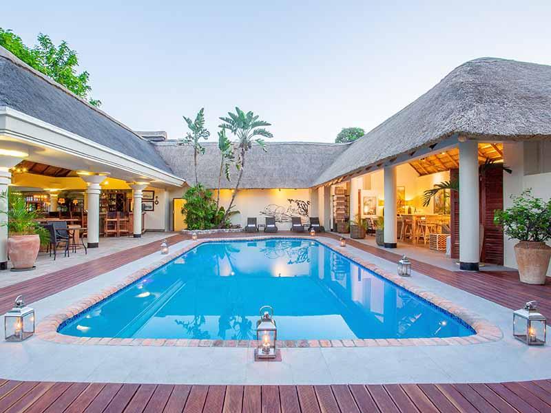 Ilala main pool and bar area