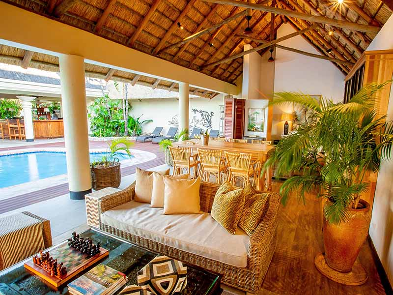 Ilala new lounge and bar pool area