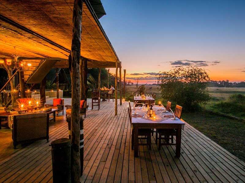The Hide Safari Camp View