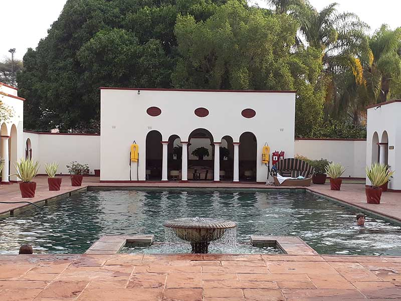 The Victoria Falls Hotel Pool