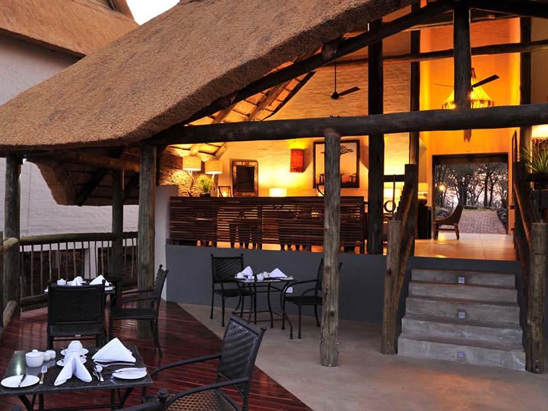 Victoria Falls Safari Lodge Dining