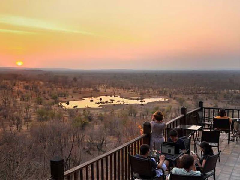 Victoria Falls Safari Lodge View