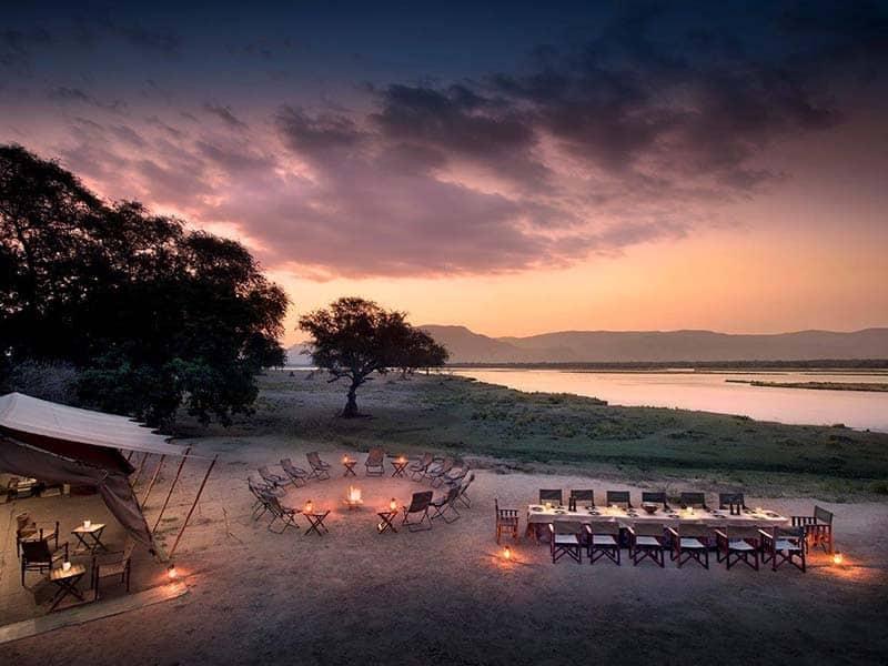 Zambezi Lifestyles Camp Evening