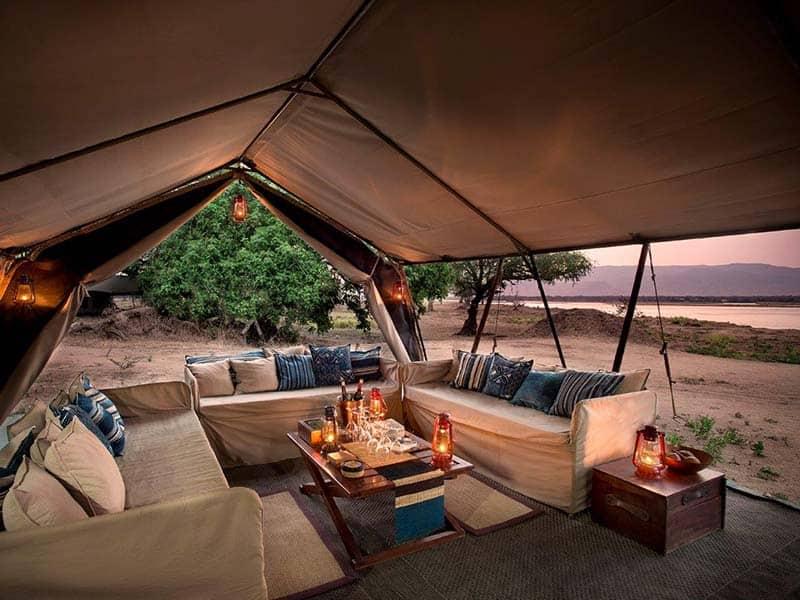 Zambezi Lifestyles Camp Lounge