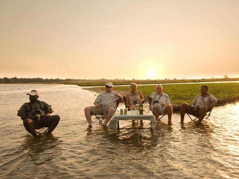 Zambezi Lifestyles Camp Sundowners