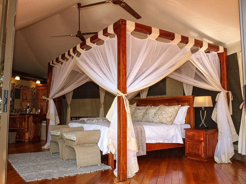 Zambezi Sands Tented Camp Honeymoon Suite