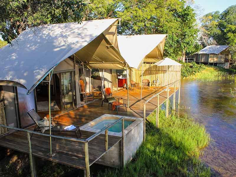 Zambezi Sands Tented Camp Suite