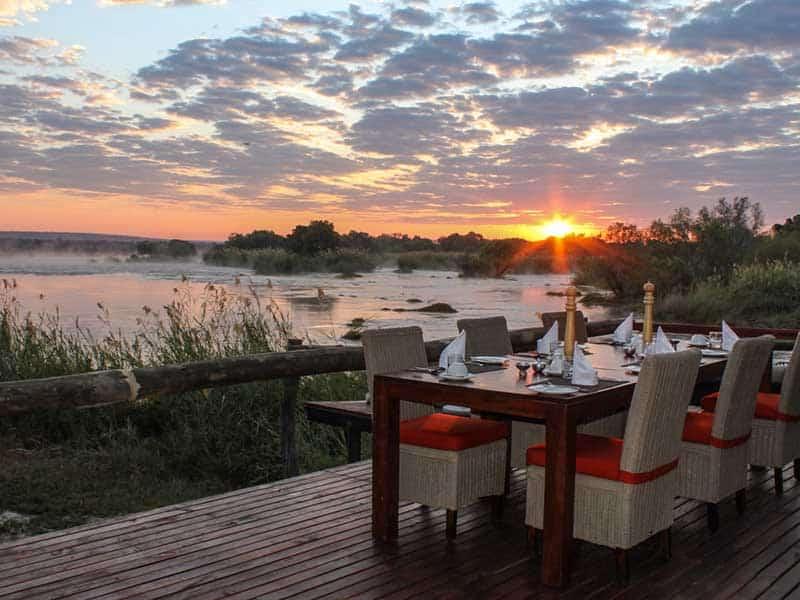 Zambezi Sands Tented Camp Sunrise Breakfast